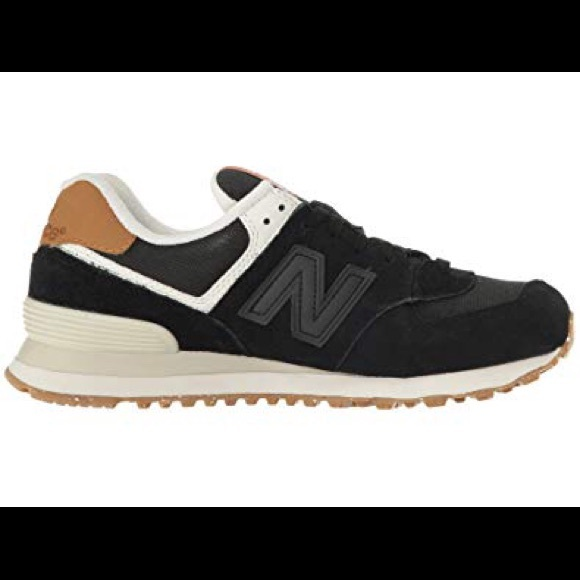 9c335ad4b3062 New Balance Shoes | 574 Black Nubuck Womens Size 9 | Poshmark